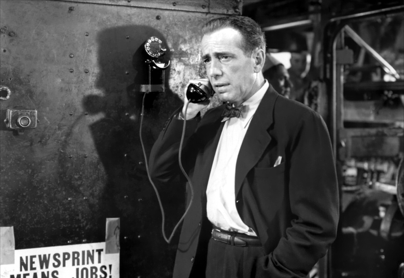 The Deadline di Richard Brooks con Humphrey Bogart, 1951