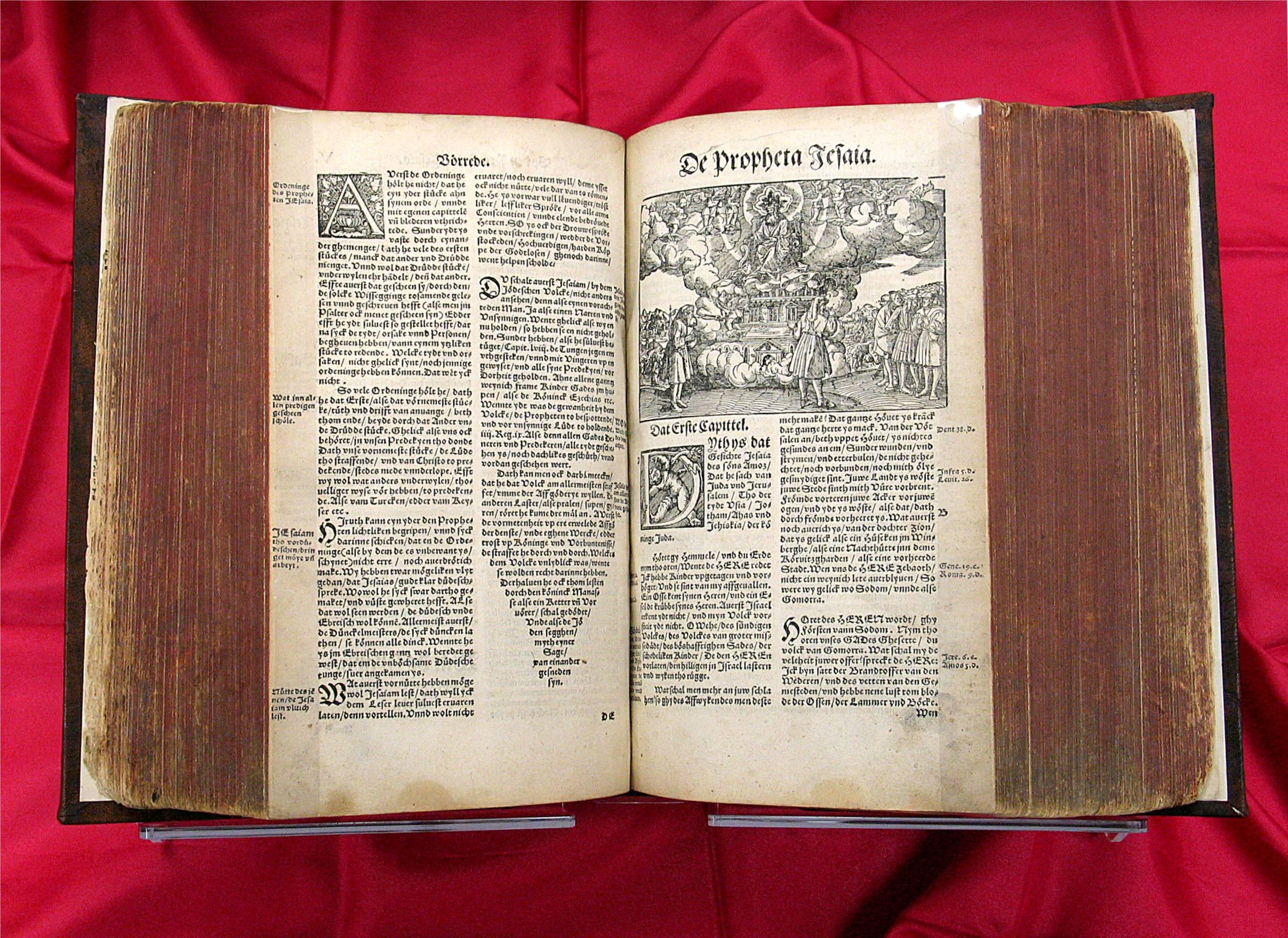 Bibbia di Lutero, 1545. Fonte: http://library.dts.edu/Pages/TL/Special/sc_bibles.shtml