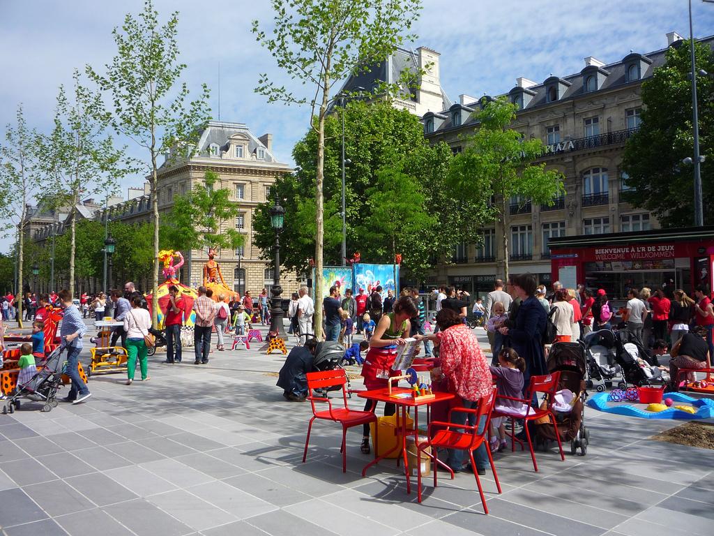 Place de la République, Paris, innovazione