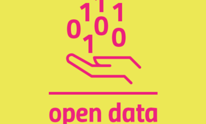 nube di parole open data voce