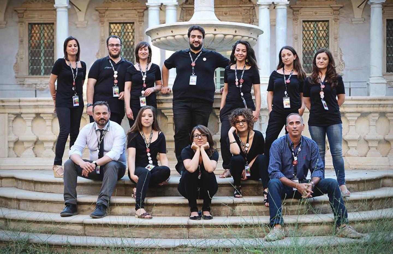La squadra delle Officine Culturali di Catania
