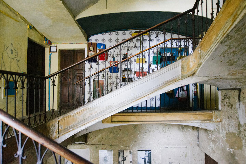 viadellafucina16 condominio museo, spazio comune interno